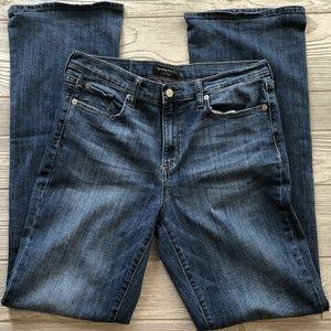 Banana Republic Slim Bootcut Jeans Stretch Size 10